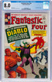 Fantastic Four #30 (Marvel, 1964) CGC VF 8.0 Off-white pages
