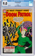 Silver Age (1956-1969):Adventure, Doom Patrol #87 Massachusetts Copy Pedigree (DC, 1964) CGC VF/NM 9.0 Off-white to white pages....