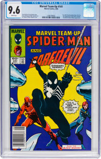 Marvel Team-Up #141 Spider-Man and Daredevil (Marvel, 1984) CGC NM+ 9.6 White pages