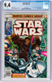 Star Wars #3 (Marvel, 1977) CGC NM 9.4 White pages