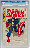 Silver Age (1956-1969):Superhero, Captain America #109 (Marvel, 1969) CGC NM/MT 9.8 White pages....