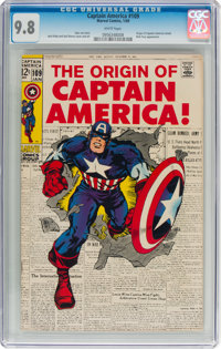 Captain America #109 (Marvel, 1969) CGC NM/MT 9.8 White pages
