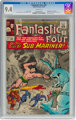 Fantastic Four #33 (Marvel, 1964) CGC NM 9.4 White pages