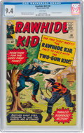 Silver Age (1956-1969):Western, Rawhide Kid #40 (Marvel, 1964) CGC NM 9.4 White pages....