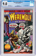Bronze Age (1970-1979):Horror, Werewolf by Night #32 (Marvel, 1975) CGC VF/NM 9.0 Cream tooff-white pages....