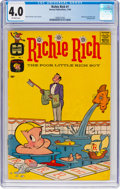 Silver Age (1956-1969):Humor, Richie Rich #1 (Harvey, 1960) CGC VG 4.0 Off-white pages....