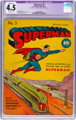 Superman #3 (DC, 1939) CGC Apparent VG+ 4.5 Slight (C-1) Off-white pages