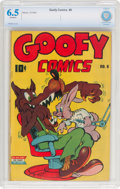 Golden Age (1938-1955):Funny Animal, Goofy Comics #6 (Nedor Publications, 1944) CBCS FN+ 6.5 Off-white pages....