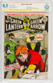 Green Lantern #85 Authentic Signature (DC, 1971) CBCS VF+ 8.5 Off-white to white pages