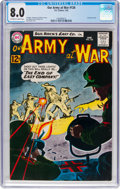 Silver Age (1956-1969):War, Our Army at War #126 (DC, 1963) CGC VF 8.0 Off-white to white pages....