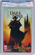 Modern Age (1980-Present):Science Fiction, Dark Tower: The Gunslinger Born #1 Book Market Variant (Marvel,2007) CGC NM/MT 9.8 White pages....