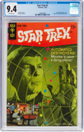 Silver Age (1956-1969):Science Fiction, Star Trek #3 (Gold Key, 1968) CGC NM 9.4 Off-white pages....