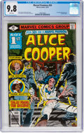 Bronze Age (1970-1979):Horror, Marvel Premiere #50 Alice Cooper (Marvel, 1979) CGC NM/MT 9.8 Whitepages....
