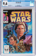 Modern Age (1980-Present):Science Fiction, Star Wars #81 (Marvel, 1984) CGC NM+ 9.6 White pages....