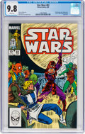 Modern Age (1980-Present):Science Fiction, Star Wars #82 (Marvel, 1984) CGC NM/MT 9.8 White pages....