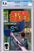 Modern Age (1980-Present):Science Fiction, Star Wars #88 (Marvel, 1984) CGC NM+ 9.6 White pages....