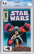 Modern Age (1980-Present):Science Fiction, Star Wars #89 (Marvel, 1984) CGC NM+ 9.6 White pages....