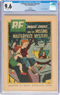 Silver Age (1956-1969):Adventure, Magic Shoe Adventure Book #3 Magic Shoes and the Missing Masterpiece Mystery (Western, 1963) CGC NM+ 9.6 Off-white pages....