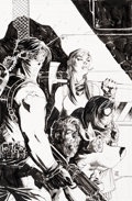 Original Comic Art:Covers, Jim Lee Scooby Apocalypse #3 Cover Original Art (DC,2016)....