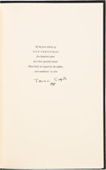 Books:Signed Editions, Truman Capote. Signed Limited Edition of One Christmas....