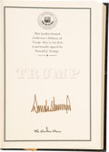 Books:Signed Editions, Donald Trump with Meredith McIver. Signed Limited Edition of Trump: How to Get Rich....