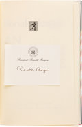 Books:Signed Editions, Ronald Reagan. An American Life. ... (Total: 0 Items)