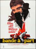 """Movie Posters:Foreign, Bande à Part (Columbia, 1964). French Grande (45.5"""" X 65"""") Georges Kerfyser Artwork. Foreign.. ..."""