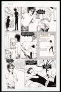 Original Comic Art:Panel Pages, Jill Thompson and Vince Locke Sandman #42 Story Page 18Original Art (DC, 1992)....