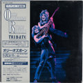 Music Memorabilia:Recordings, Ozzy Osbourne Randy Rhoads Tribute Sealed Import Double LP(Japan - CBS/Sony 35AP 3344~5, 1987)....