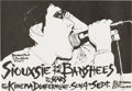 Music Memorabilia:Posters, Siouxsie & the Banshees Kinema Dunfermline Concert Flyer (1979)....