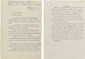Explorers:Space Exploration, Gherman Titov's Speech as Presented to the May 1962 COSPAR Symposium in Washington, D.C., Signed by and from the Archives ...
