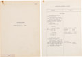 """Explorers:Space Exploration, Soviet Mission Soyuz 1: Official Copy of """"Onboard Journal"""" (Transcript) for the Ill-Fated Flight, from the Collection of Gener..."""