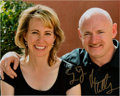 Explorers:Space Exploration, Gabby Giffords and Mark Kelly Signed Color Photo. ...