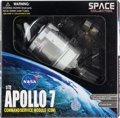 Explorers:Space Exploration, Fred Haise Signed Apollo Command/Service Module Model, 1/72 Scale, by Dragon, New in Box, with Spaceflight America Museum COA....