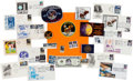 Explorers:Space Exploration, Apollo 11: Collection of Period and Anniversary Memorabilia including Covers, Patches, Medals, Stamps, and Photos. ...
