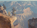 Fine Art - Painting, American, Ralph Love (American, 1907-1992). Canyon Morning from YavapaiPoint, 1984. Oil on canvas. 30 x 40 inches (76.2 x 101.6 c...