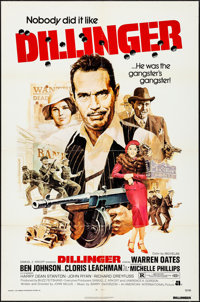 """Dillinger & Others Lot (American International, 1973). One Sheets (3) (27"""" X 41""""), Poster (30"""" X 40&q..."""