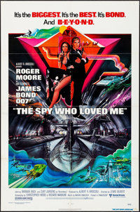 "The Spy Who Loved Me & Other Lot (United Artists, 1977). Folded, Overall: Very Fine-. One Sheet (27"" X 41&q..."