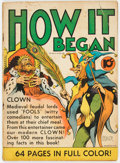 Golden Age (1938-1955):Non-Fiction, Single Series #15 How It Began (United Feature Syndicate, 1939)Condition: VG....