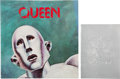 Music Memorabilia:Memorabilia, Queen Pair of Two Tour Programs (1977)....