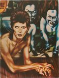 Music Memorabilia:Memorabilia, David Bowie Diamond Dogs Tour Program (1974)....