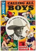 Golden Age (1938-1955):Miscellaneous, Calling All Boys #10 Mile High Pedigree (Parents' Magazine Institute, 1947) Condition: VF-....