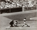 Baseball Collectibles:Photos, 1957 Yogi Berra Original Photograph by Osvaldo Salas, PSA/...