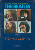 Music Memorabilia:Memorabilia, Beatles United Artists Japanese Let It Be Film Program (Japan, 1971)....