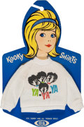 "Music Memorabilia:Toys, Beatles Ideal Toy ""Kooky Shirts"" Sweater on the Original Hang Card (US, Circa Mid-1960s)...."