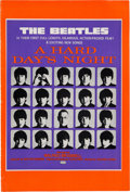 Music Memorabilia:Memorabilia, Beatles United Artists Corporation A Hard Day's Night FilmPromotional Press Book (UK, 1964)....