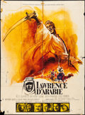 """Movie Posters:Academy Award Winners, Lawrence of Arabia (Columbia, R- Early 1970s). French Grande (46"""" X 62"""") Michel Landi Artwork. Academy Award Winners.. ..."""