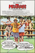 """Movie Posters:Comedy, Meatballs (Paramount, 1979). Folded, Very Fine. British One Sheet(28.75"""" X 40""""). Comedy.. ..."""
