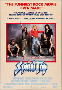 """This is Spinal Tap (Embassy, 1984). One Sheet (27"""" X 39.5""""). Rock and Roll"""