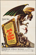 """Movie Posters:Fantasy, Jack the Giant Killer (United Artists, 1962). Autographed One Sheet (27"""" X 41""""). Fantasy.. ..."""
